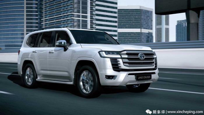 TNGA+V6还有大梁 全新丰田兰德酷路泽首发